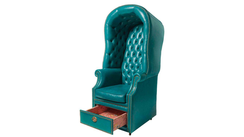 Foto: Estos sillones, de tonos coloridos, están confeccionadod por artesanos toscanos.