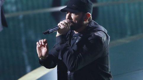 Eminem pone en pie a las estrellas de los Premios Oscar con la actuación de '8 Millas'