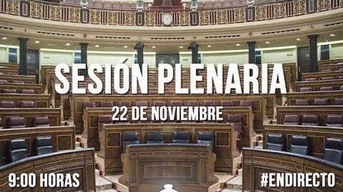 La crisis de Cataluña, en la sesión de control