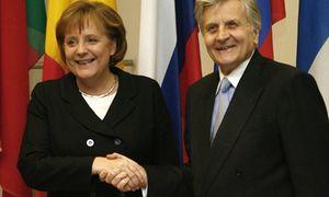 Trichet (BCE) se alía con Merkel y sugiere que no habrá compra masiva de bonos