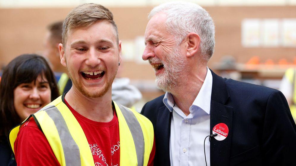 Foto: Jeremy Corbyn, en un acto de campaña. (Reuters)