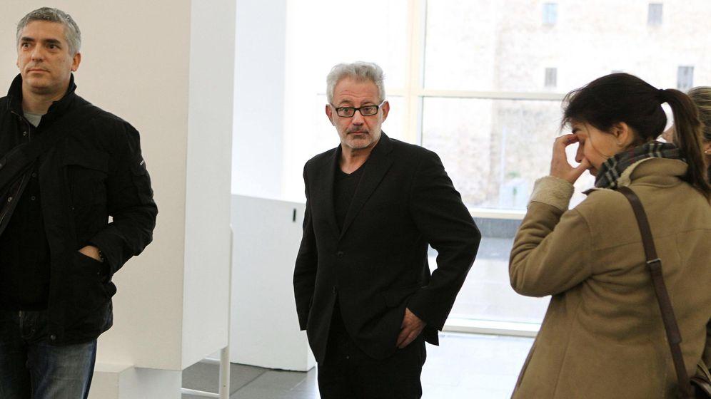 Foto: El director del MACBA durante la inauguración el sábado de la exposición que previamente había cancelado (Efe)