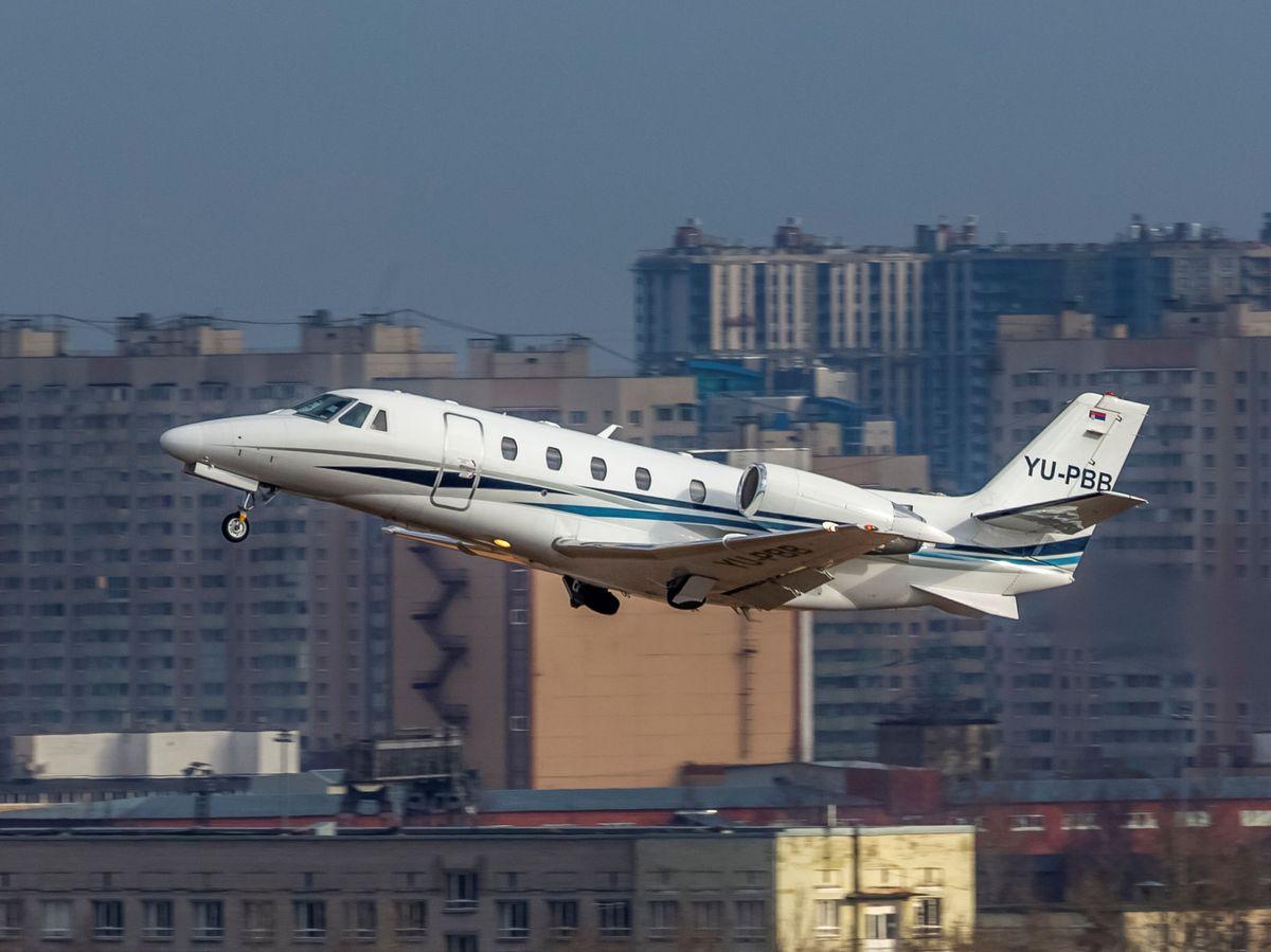 Foto: EL jet privado es una de las formas menos sostenibles de viajar. Reuters