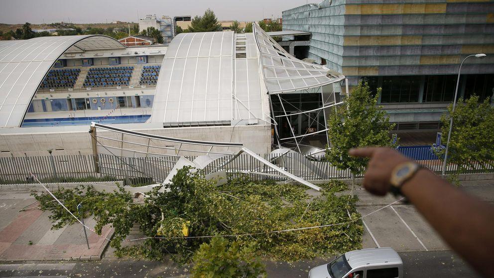 Numerosos destrozos por la tormenta en la Comunidad de Madrid