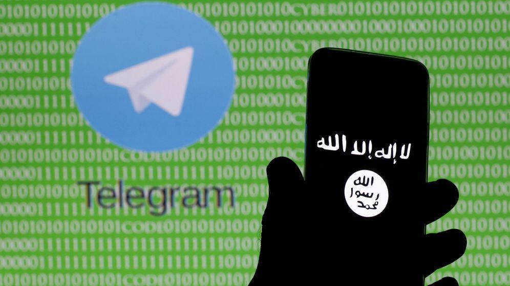 Foto: Montaje con el logo de Telegram. (Reuters)