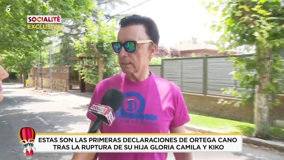 Ortega Cano evita hablar de Kiko Jiménez tras romper con su hija Gloria Camila
