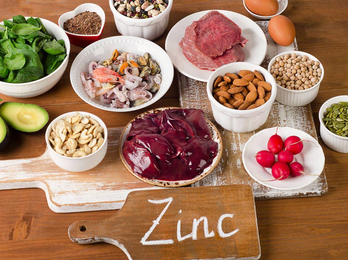 Foto: Alimentos ricos en zinc. (iStock)