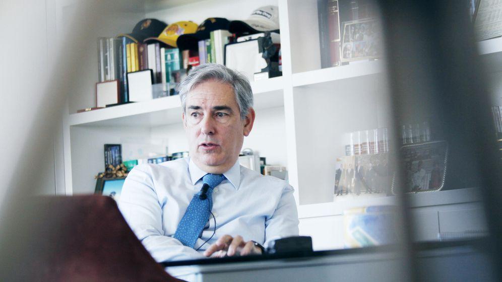 Foto: Antonio Fernández Galiano, presidente de Unedisa (E.villarino)
