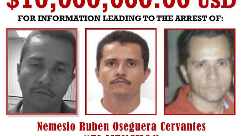 'El Mencho', el narco más buscado del mundo por el que pagan 9 millones por su cabeza