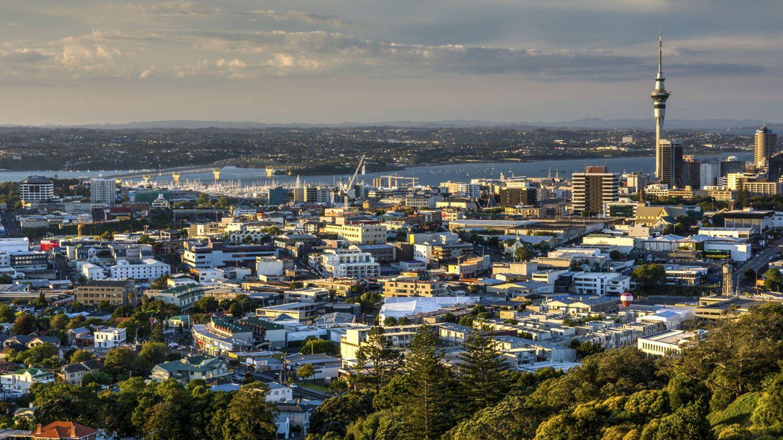 Vista sobre Auckland, Nueva Zelanda