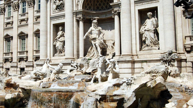 La Fontana di Trevi. (Gianni Crestani en Pixabay)