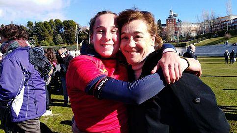 Blanca Fernández y su amor por el rugby