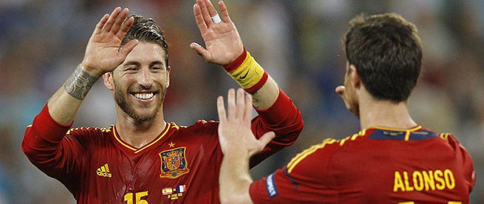 Foto: Sergio Ramos, a un paso de entrar en el selecto 'Club de los Cien' con España
