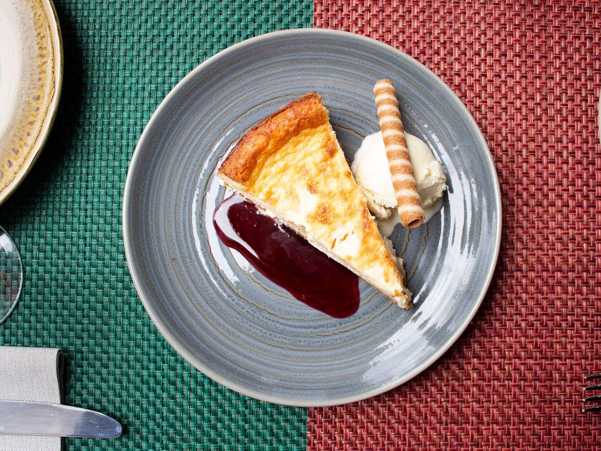 Foto: Tarta de queso de Mooser. (Cortesía)