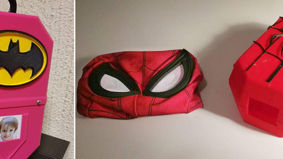 Estos españoles imprimen en 3D cajas que dan superpoderes a niños con cáncer