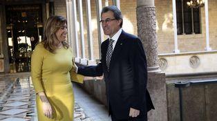 Se equivocó Susana al adelantar Andalucía… y se la pegará Artur Mas