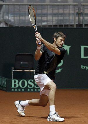 Ferrero inicia este viernes la defensa española de la Davis ante el kazajo Kukushkin