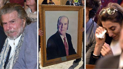 Paz Padilla y Bigote Arrocet, rotos en el funeral de Chiquito de la Calzada