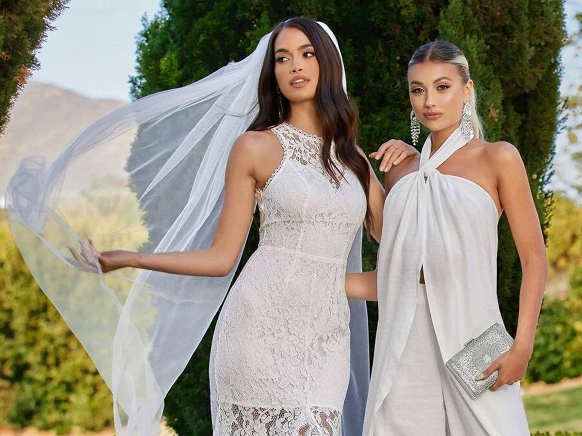 Foto: Descubre los nuevos vestidos de novia de Shein. (Cortesía)