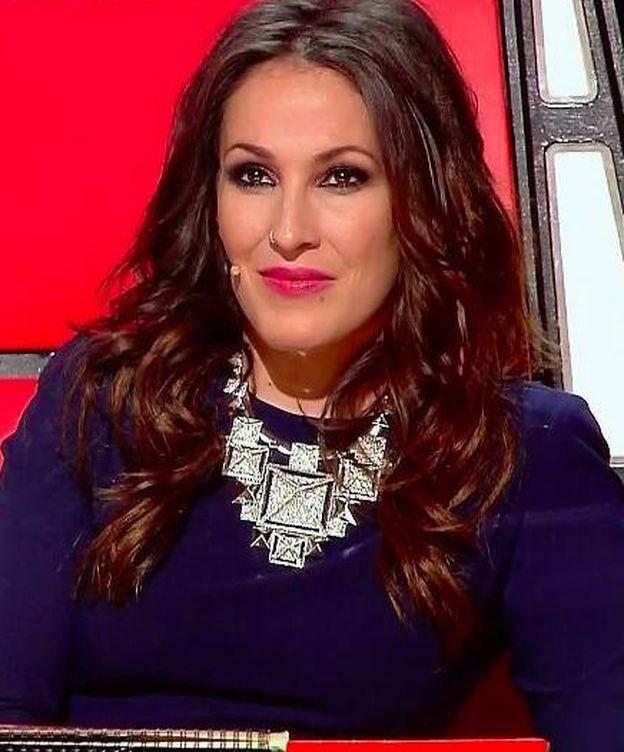 Foto: Malú en 'La Voz'