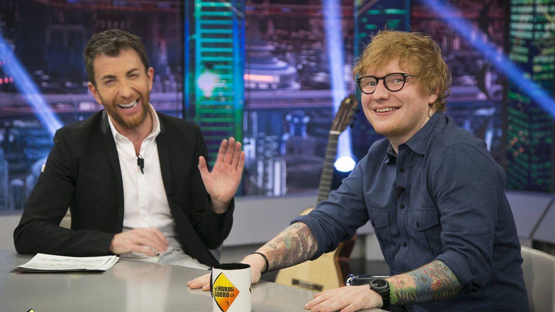 Ed Sheeran y Pablo Motos en 'El hormiguero'. (Atresmedia TV)