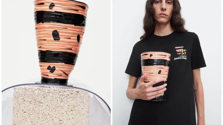 Nueva colección 'Pottery' de Zara. (Cortesía)
