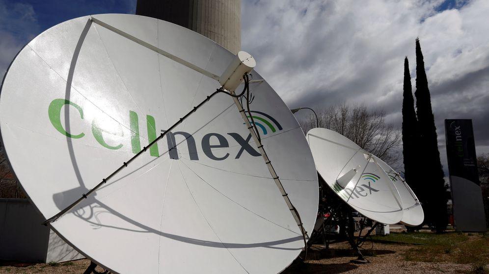 Foto: Antenas de Cellnex (Reuters)