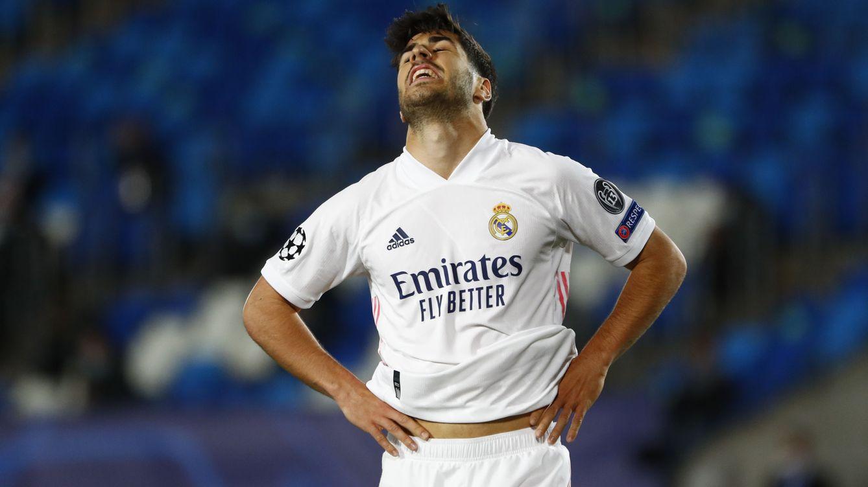Marco Asensio no termina de arrancar: aporta poco en ataque y se ha estancado