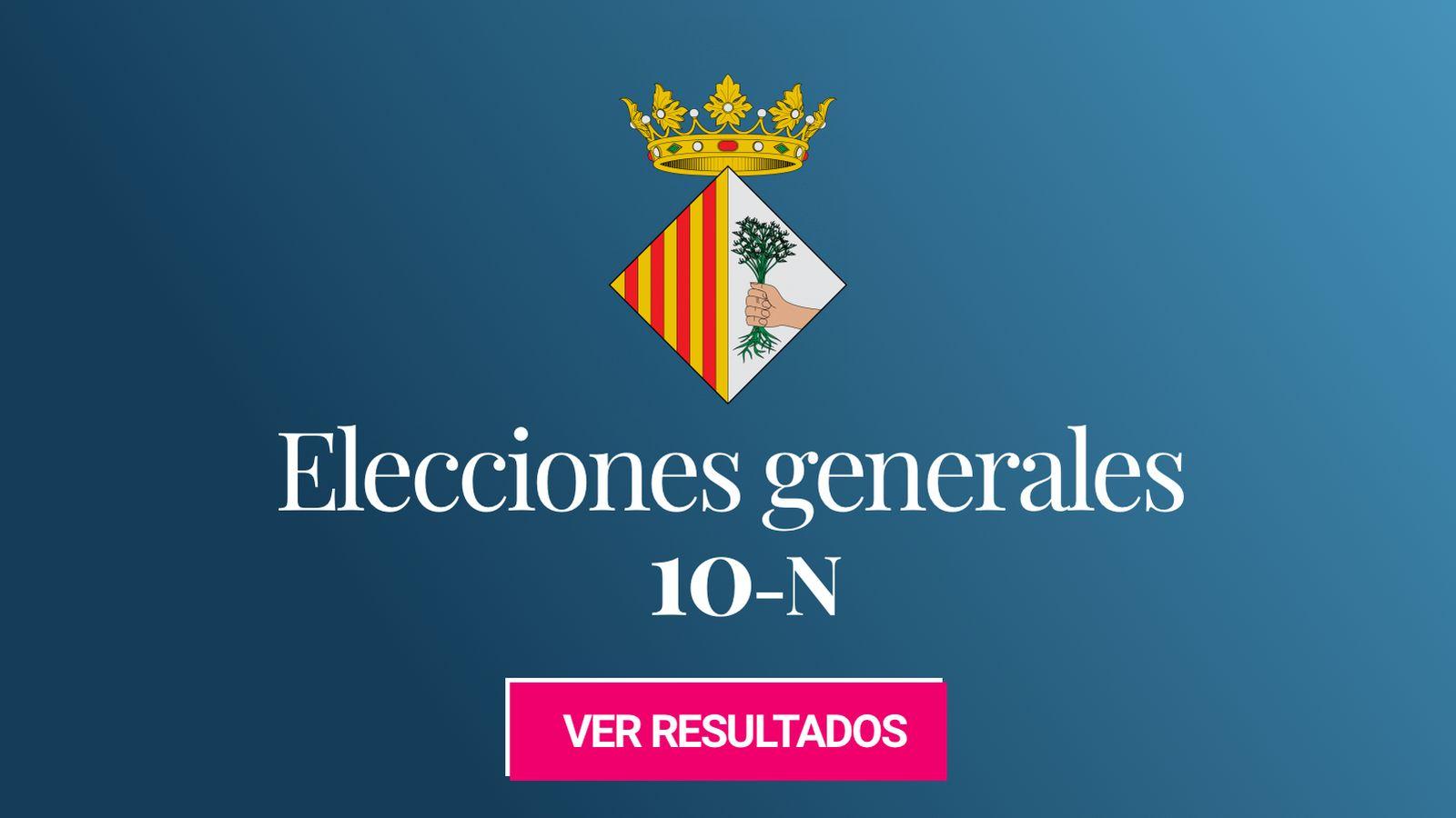 Foto: Elecciones generales 2019 en Mataró. (C.C./EC)