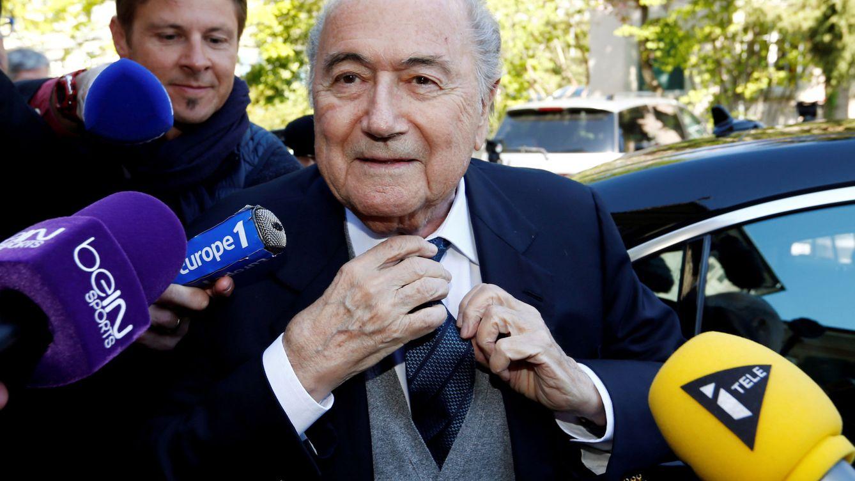El expresidente de la FIFA Joseph Blatter, hospitalizado en estado grave