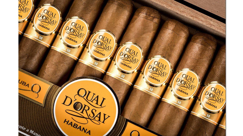 Foto: La nueva etapa en los mercados de Quai D'Orsay llega impulsada por un diseño novedoso, que eleva al cigarro a la altura que le corresponde por su enorme categoría.