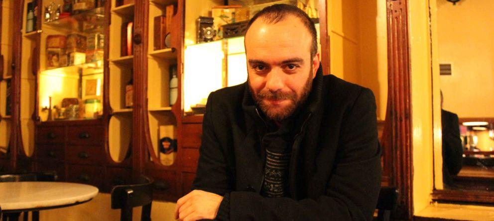 Foto: Víctor Moreno, director del documental 'Edificio España'
