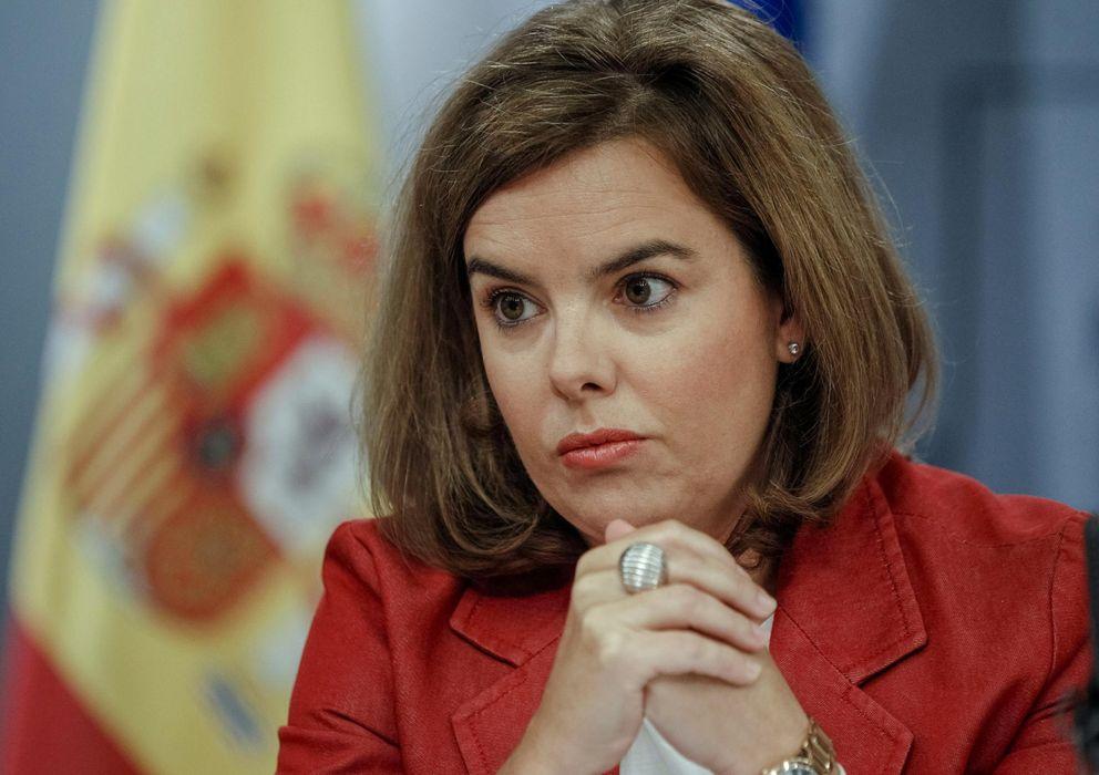Foto: Rueda de prensa tras el consejo de ministros (EFE)