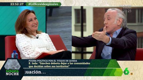 El zasca de Eduardo Inda a Angélica Rubio a colación de Zapatero