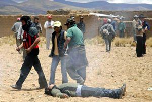 Muere un joven en Bolivia en un enfrentamiento con la policía
