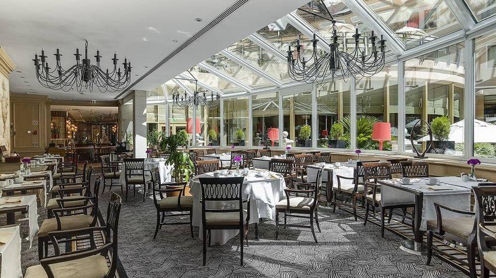 Foto: El Jardín del hotel Intercontinental de Madrid os espera. (Cortesía)