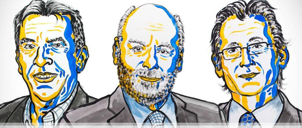 Foto: Los ganadores del Premio Nobel de Química de este año