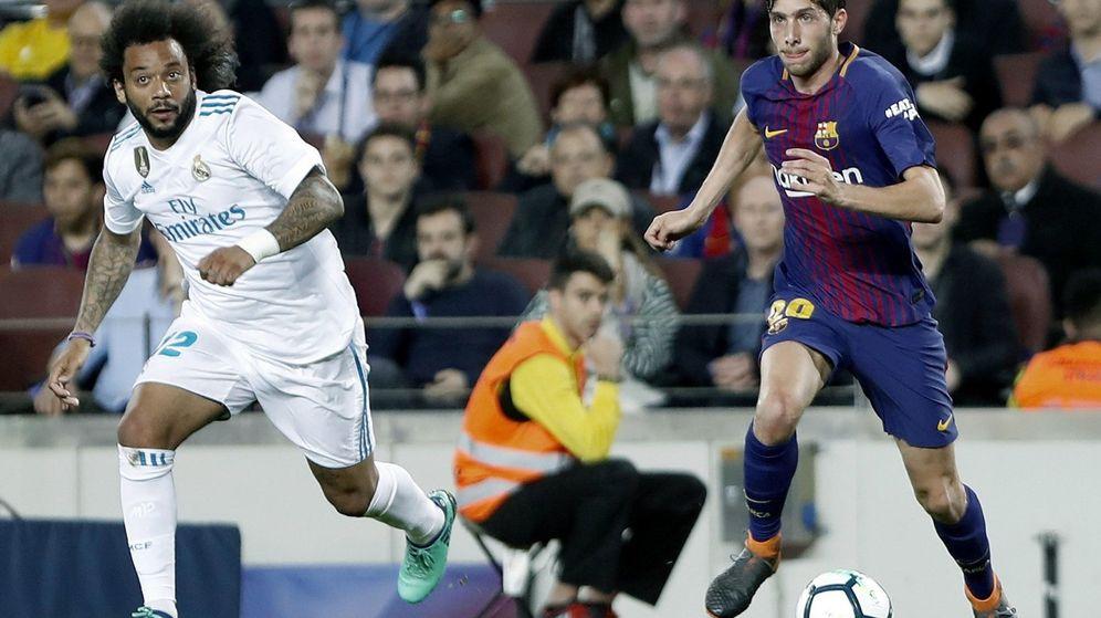 Foto: FC Barcelona y Real Madrid fueron los equipo españoles que más controles pasaron en l atemporada 2017-2018. (EFE)