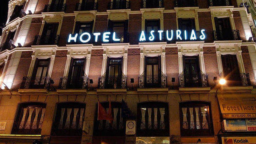 Foto: Hotel Asturias, en la Plaza de Canalejas, en Madrid.