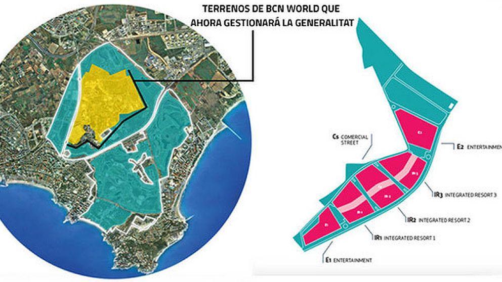 La Generalitat enmascara el fracaso de BCN World con la tutela pública