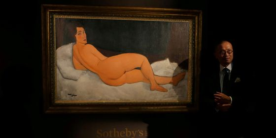 Desnudo Famoso Millones Más Vende El Modigliani 131 De Por 8 Euros Se qzUVMpGS