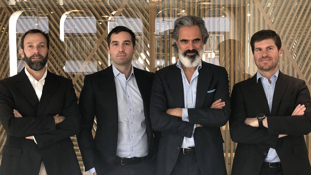 Foto: De izquierda a derecha, Alfredo Álvarez-Pickman, Pierre Danilowiez, Alex Matitia-Cohen e Íñigo Deus.