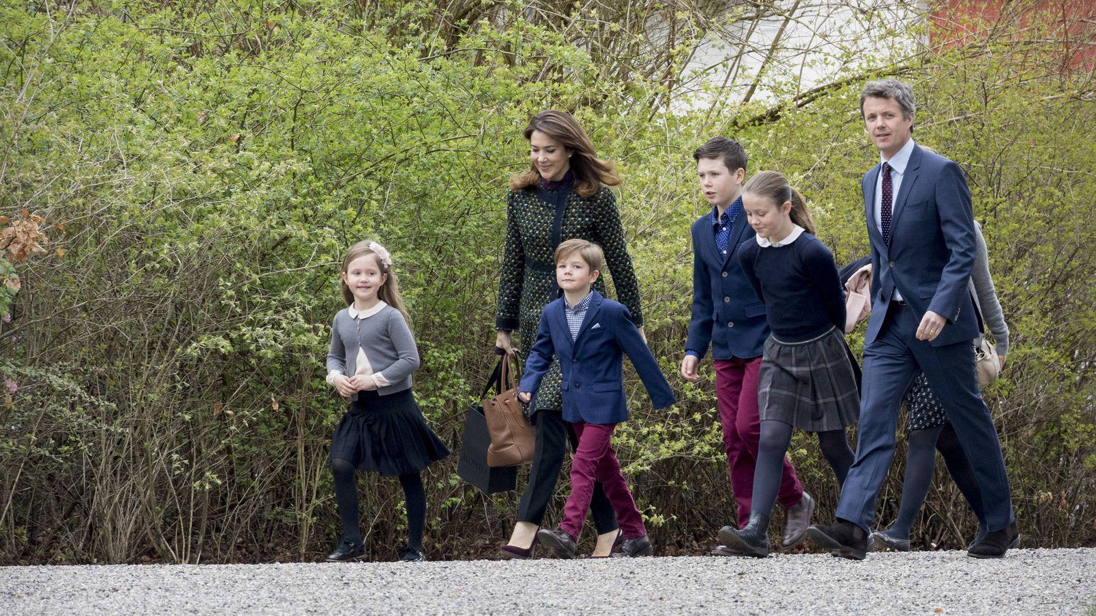Foto: La familia heredera en una imagen de archivo. (Gtres)