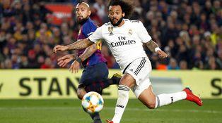 La derrota de Marcelo en el Real Madrid y cómo Solari no le quiere dejar caer