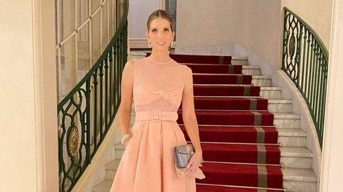 Margarita Vargas, embajadora de la moda española en la exclusiva boda Románov