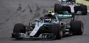 Post de Bottas lidera los entrenamientos libres del GP de Brasil con Alonso 13º y Sainz 14º