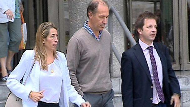 Foto:  Imagen de televisión de Miguel Ángel Montero (c). (EFE)
