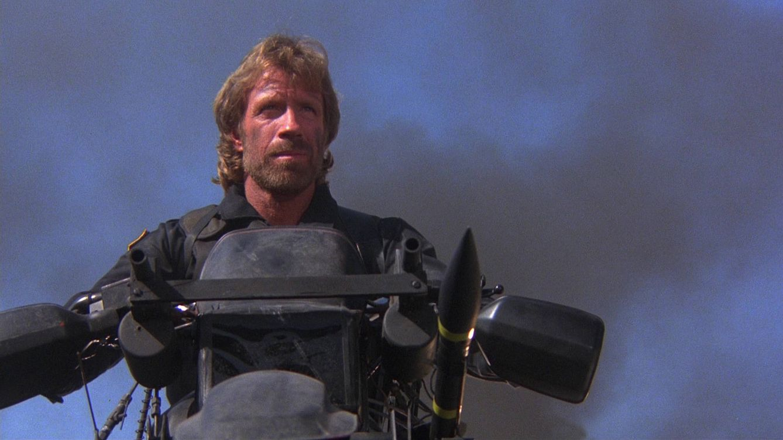 Foto: Chuck Norris en 'Delta Force': gran película y mejor persona.
