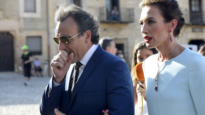 Foto: Marco Severini y Nieves Álvarez, en una imagen de archivo (Gtres)