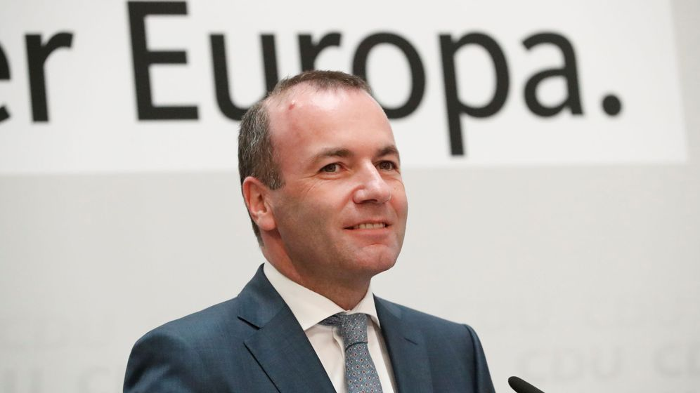 Foto: Manfred Weber, candidato del Partido Popular Europeo. (Reuters)